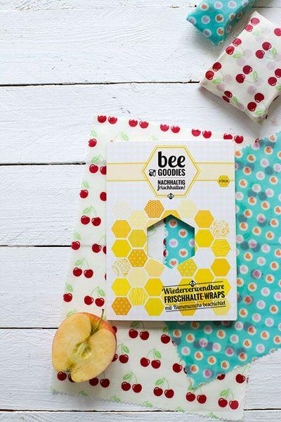 beeGoodies Bienenwachstuch 2er Set günstig bei DIE BIOBUDE
