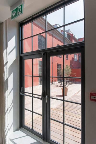 Vrogum Classic Holzfenster Innenansicht