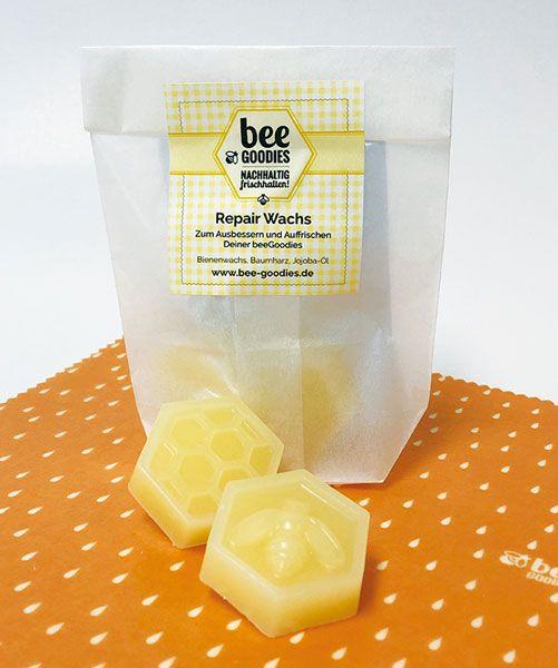 beegoodies Bienenwachstuch pflegen, Bienenwachstuch auffrischen, Bienenwachstuch reparieren