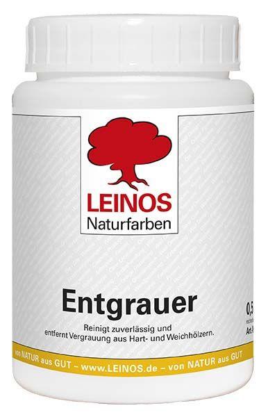 LEINOS Naturfarben Entgrauer 0,5L günstig bei DIE BIOBUDE