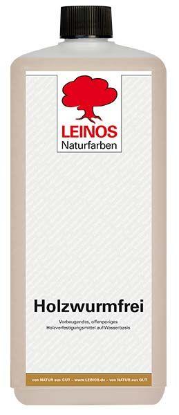 LEINOS Naturfarben Holzwurmfrei 1L günstig bei DIE BIOBUDE