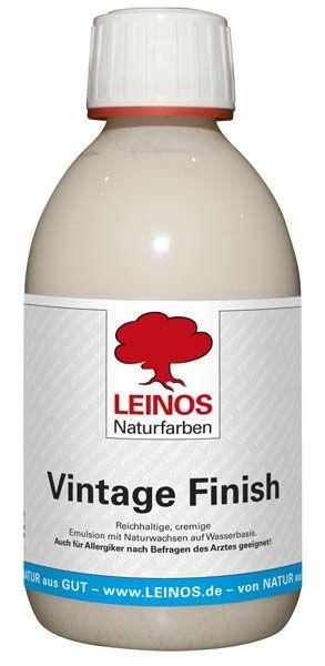 LEINOS Naturfarben Vintage Finish 250ml günstig bei DIE BIOBUDE