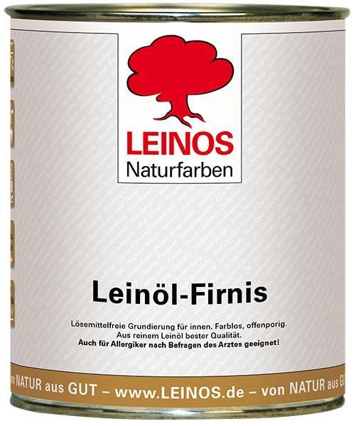 LEINOS Naturfarben Leinöl-Firnis 0,75L günstig bei DIE BIOBUDE